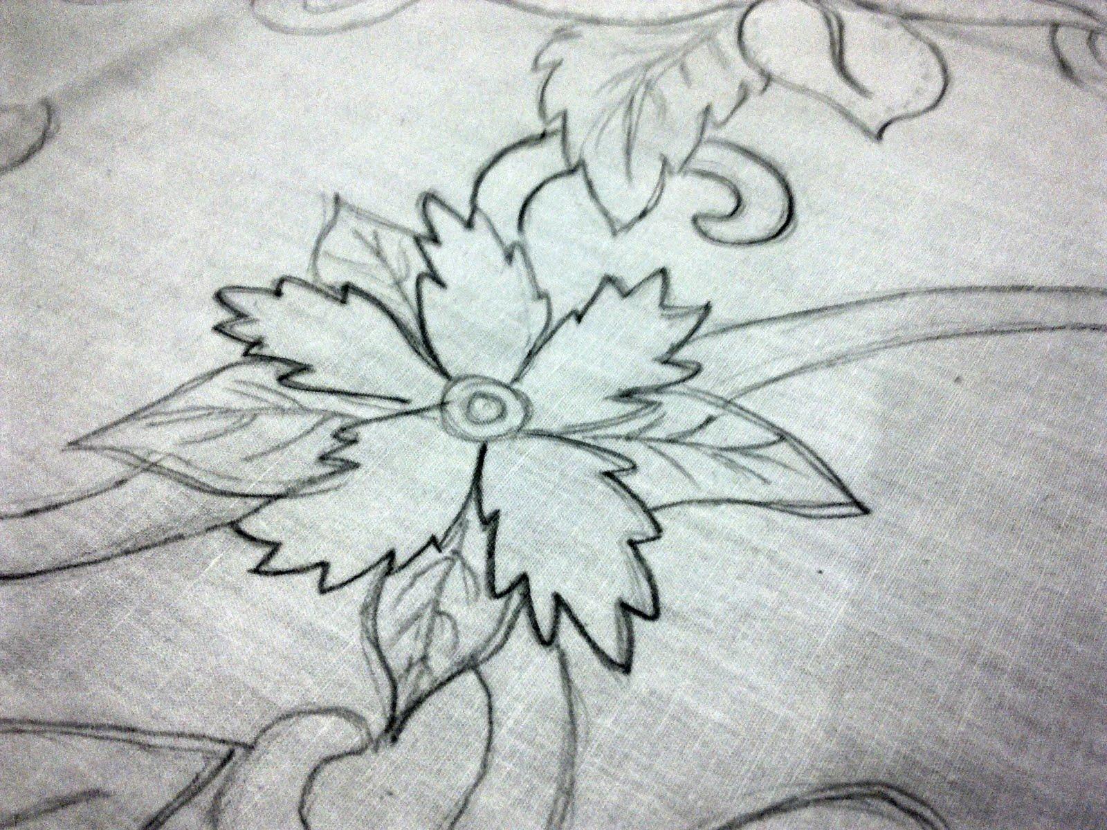 Contoh Gambar Batik Yg Gampang   Fir Saw