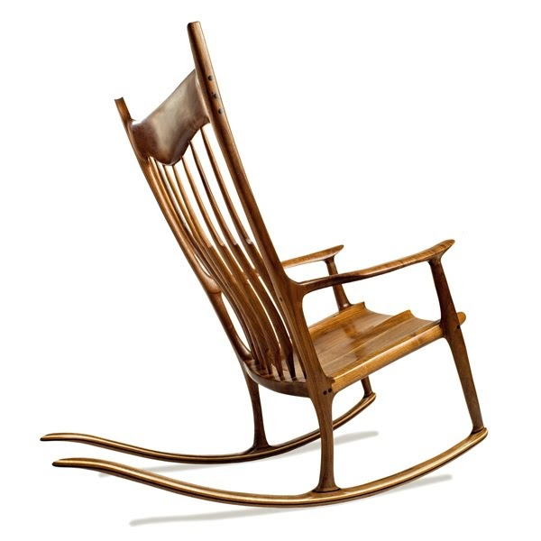 sam maloof chair plans black dining chairs set of 6 treefrogfurniture: inspired rocker, charles brock
