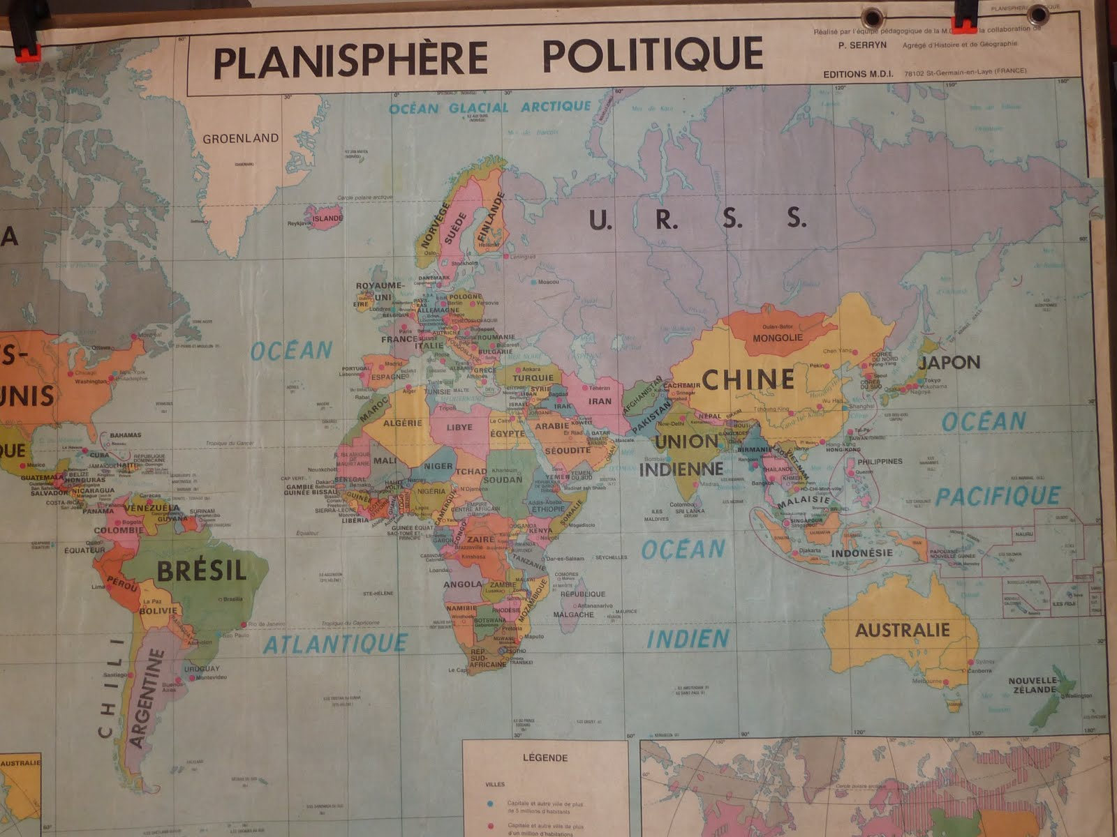 Map 8f France.Vintage French Posters Botany Animals Anatomy Old World Maps From