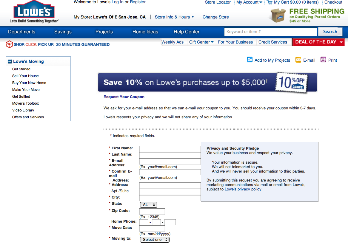 graphic regarding Talbot Printable Coupons referred to as How towards receive lowes and household depot discount coupons