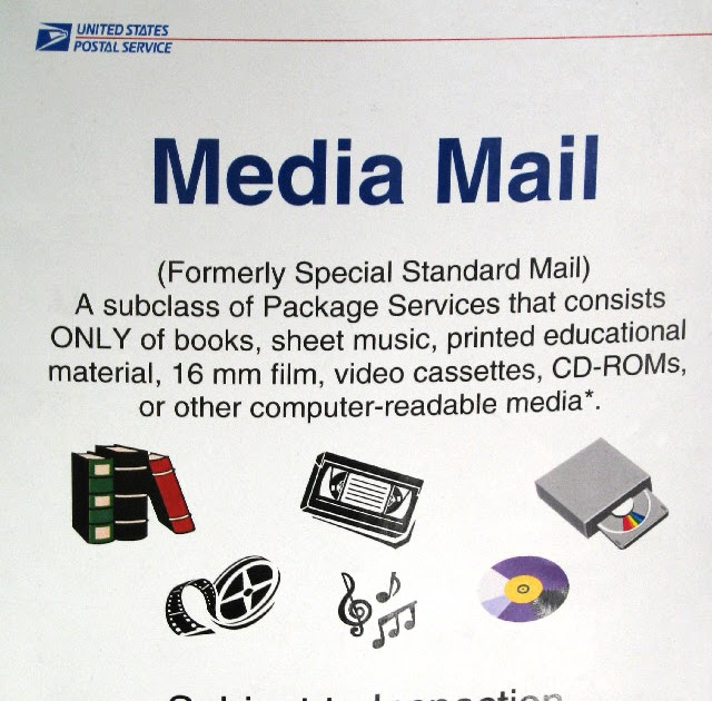 what is usps media mail