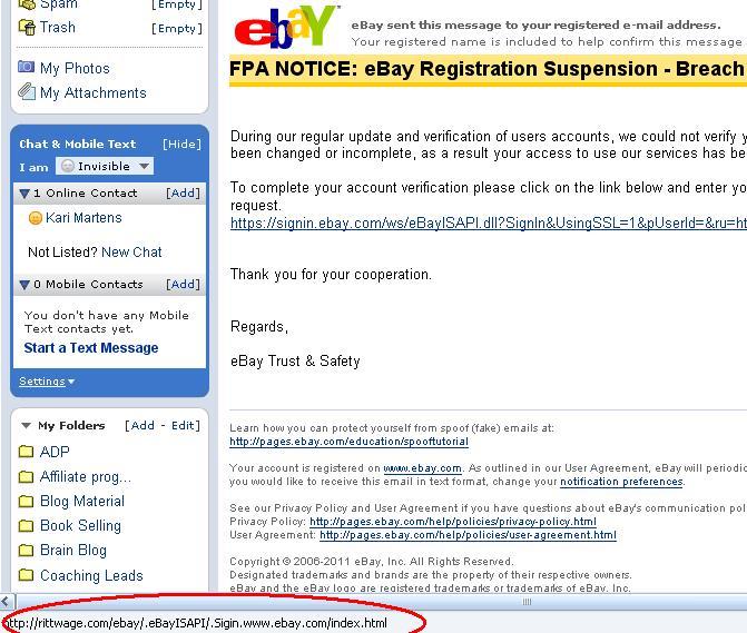 ebay email