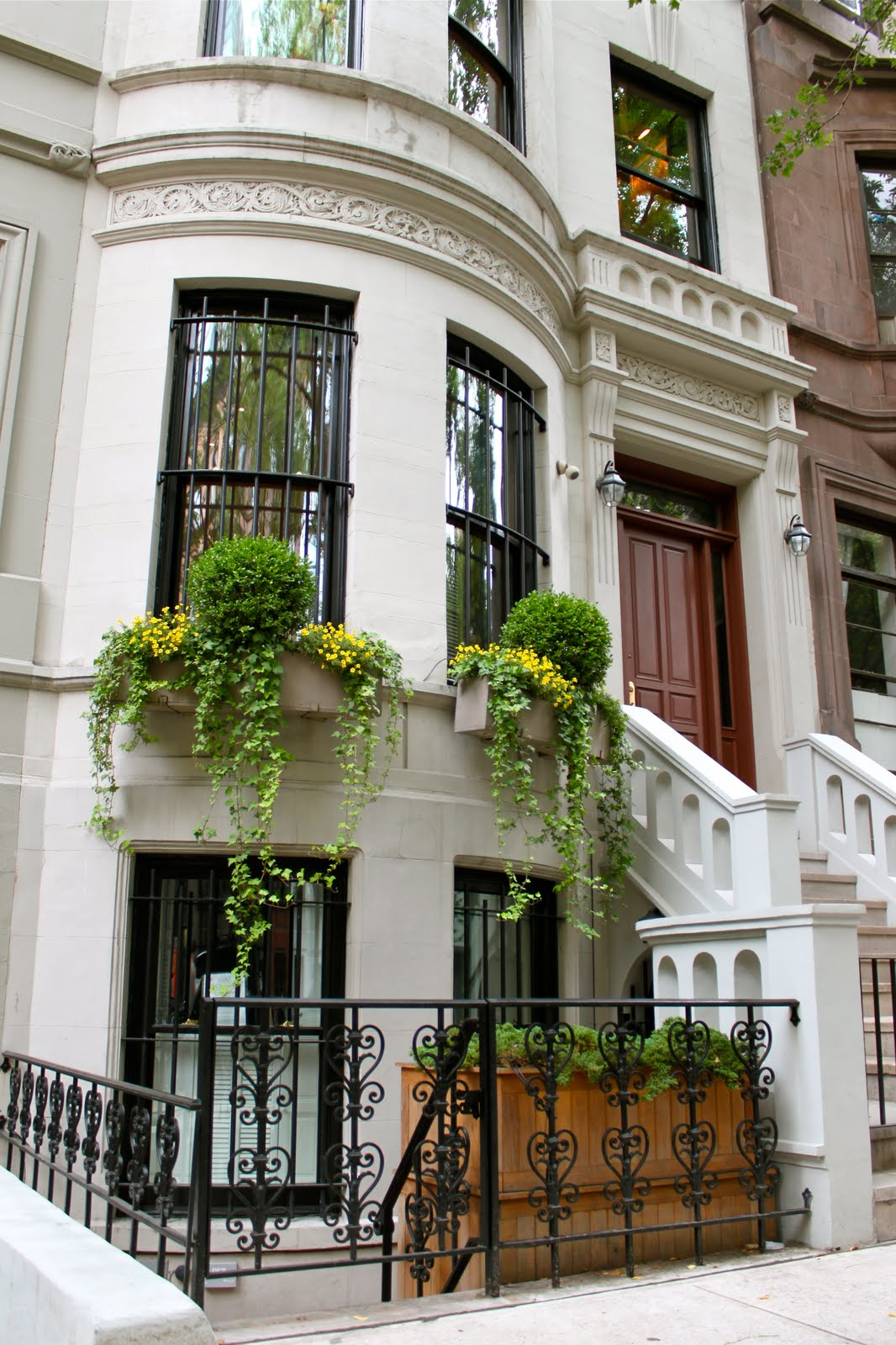3 Home Decor Trends For Spring Brittany Stager: Stoopin' Around: Stoops On Upper West Side Manhattan New York