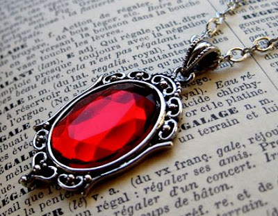 Antique Ruby Pendant
