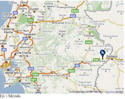 mapa estremadura espanha ULTRAPERIFERIAS: Nova euroregião europeia Extremadura (Espanha  mapa estremadura espanha