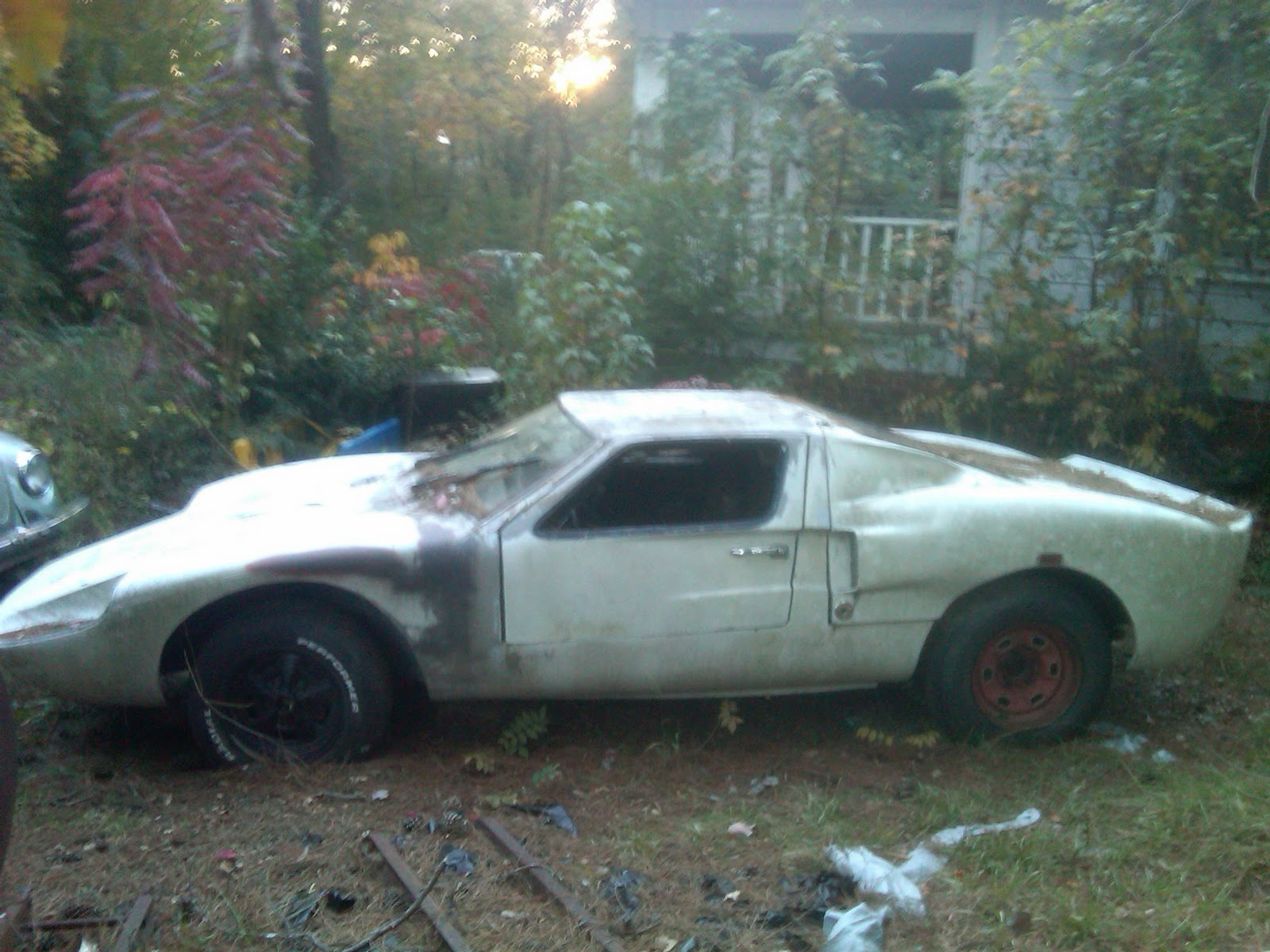 Johns Blog Early 70s Kellison Gt40 Kit Car Awaiting Restoration