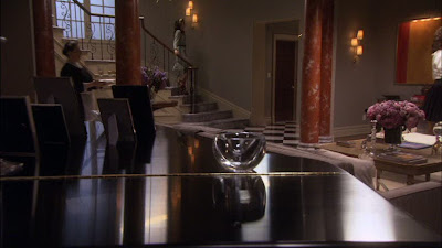 blair waldorf living room chic couture decor the impression the grand entrance 13488