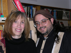 "Nancy Thompson (author of ""Killing the Buddha"") and Christopher Luna"