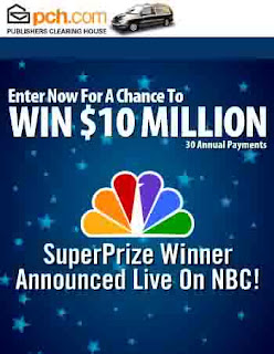 Summit Musings: Publishers Clearing House Winner Date--