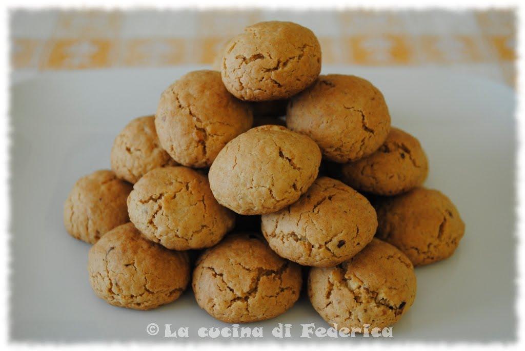 Popolare La cucina di Federica: Biscotti avena e nocciole KO13