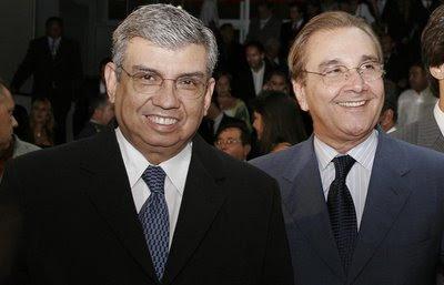Resultado de imagem para Garibaldi Alves e José agripino