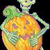 Esqueletos halloween, tubes
