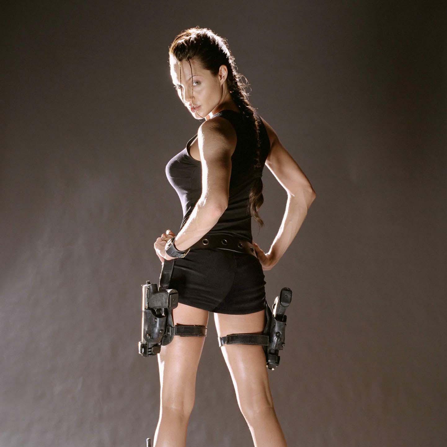 Hollywood Girls Gallery: Angeline Jolie - Tomb Raider