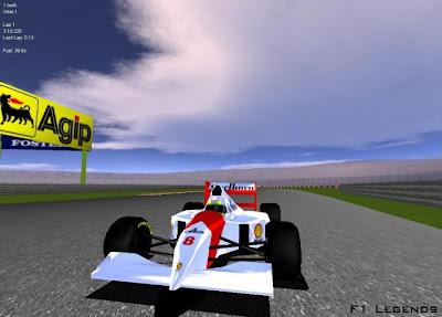 jogo F1 Legends Corrida de Carros