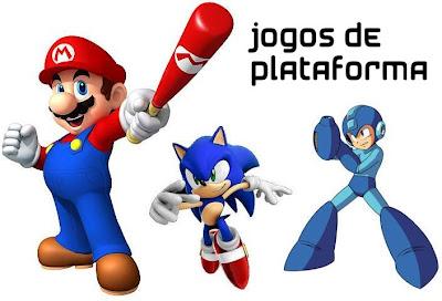 jogos classicos plataforma 2D 3D