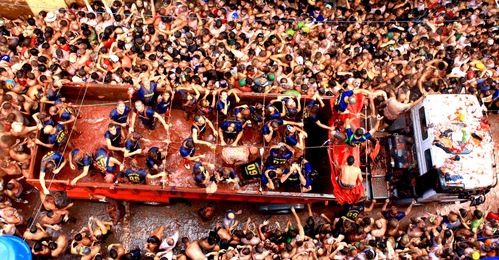 La Tomatina Festival Spain World For Travel