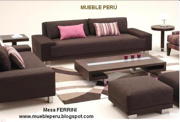 Mueble peru: mesas de centro