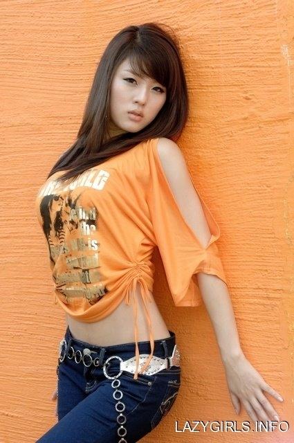 Model sexy asian