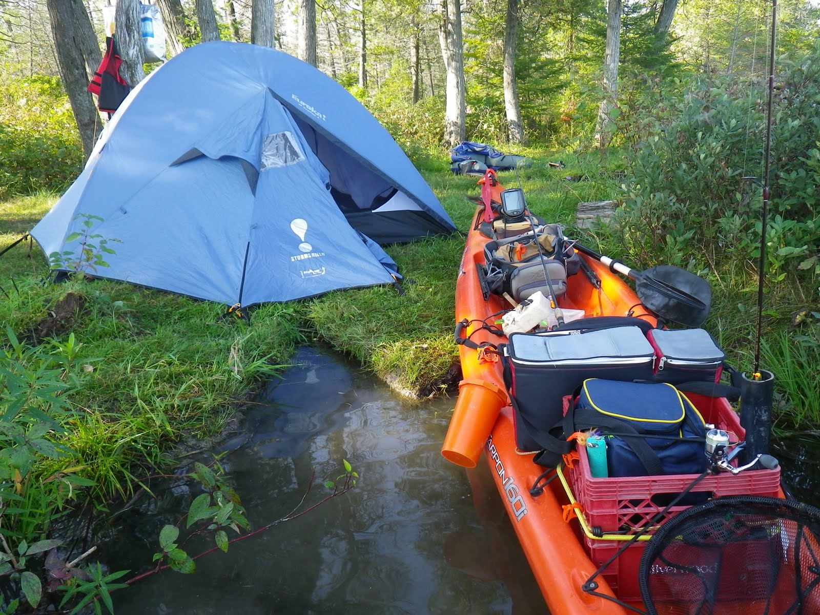 Fish On The Fly: Solo Kayak/Camping /Fishing Trip