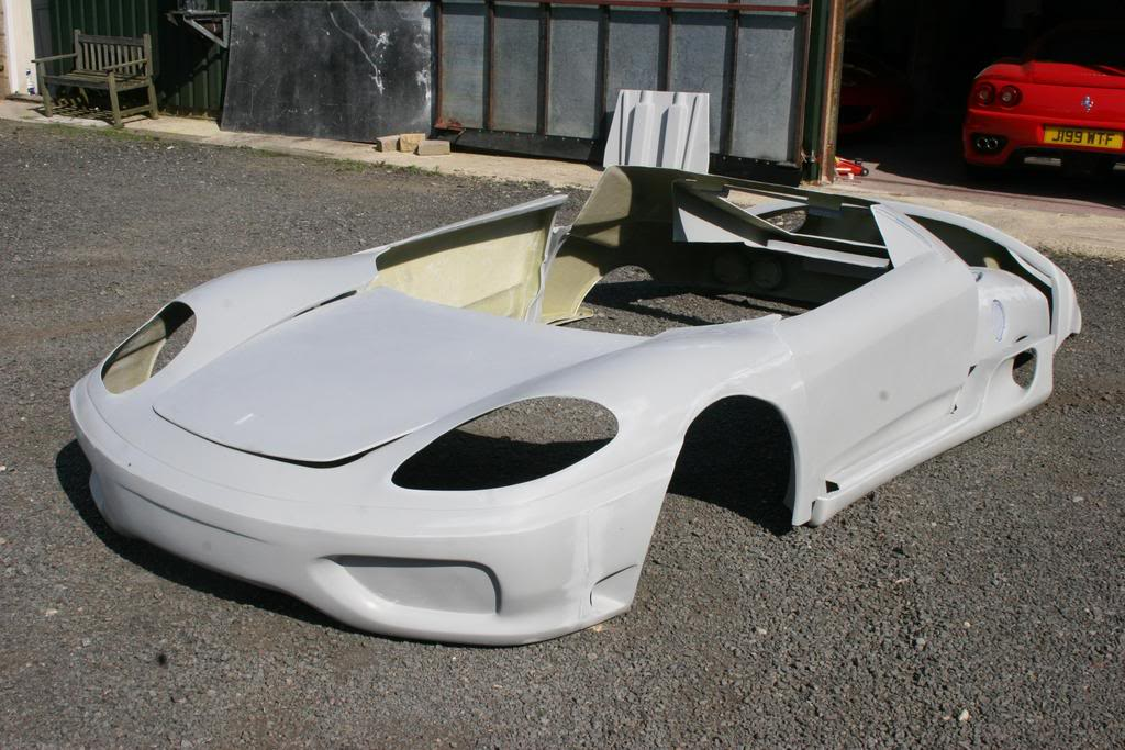 Mr2 spyder lamborghini body kit