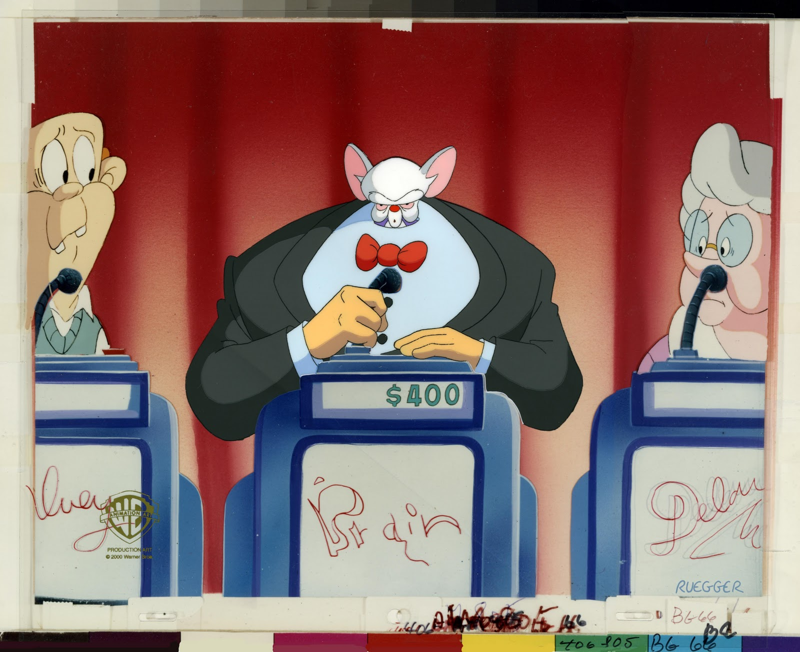 Pinky And The Brain Christmas Wish.Cartoonatics The Premiere Of Pinky And The Brain