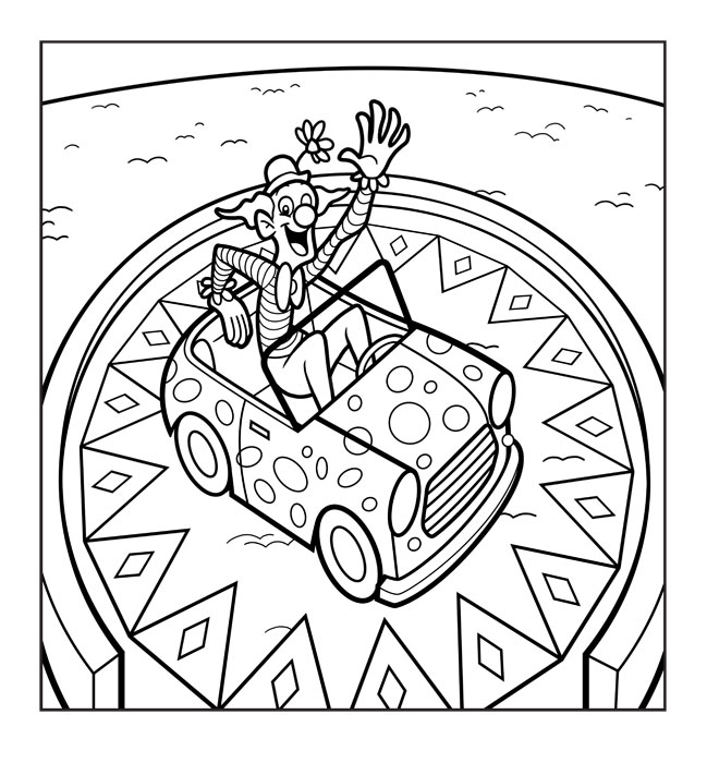 circus train coloring pages | Greg Hardin's Art & Sketch Blog: September 2010