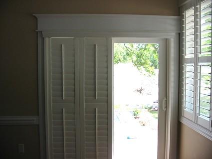 Dina Baxter's Blog: Window Treatments for Glass Sliding ...