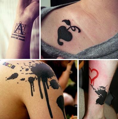 hayles little blog tattoos with a graphic design approach
