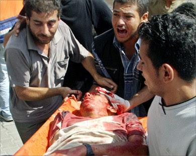 Arafat vakter slog ihjal palestinier