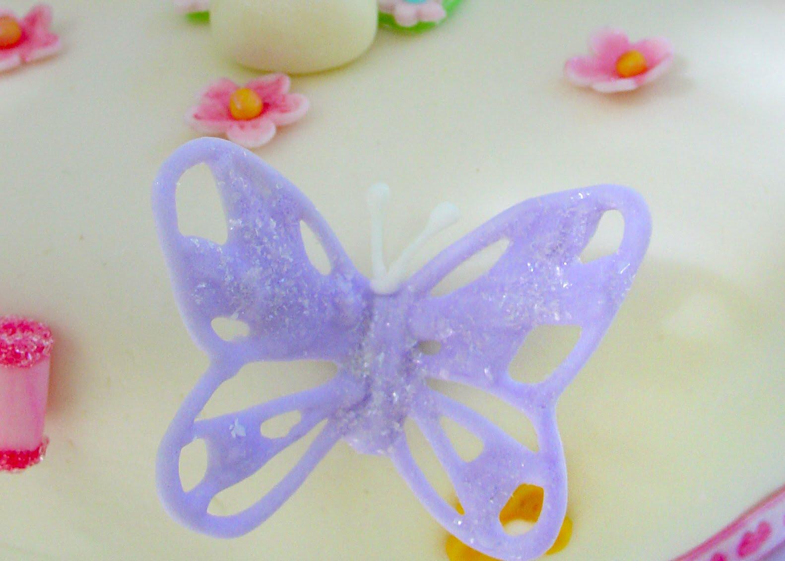 Haniela's: Royal Icing Butterflies