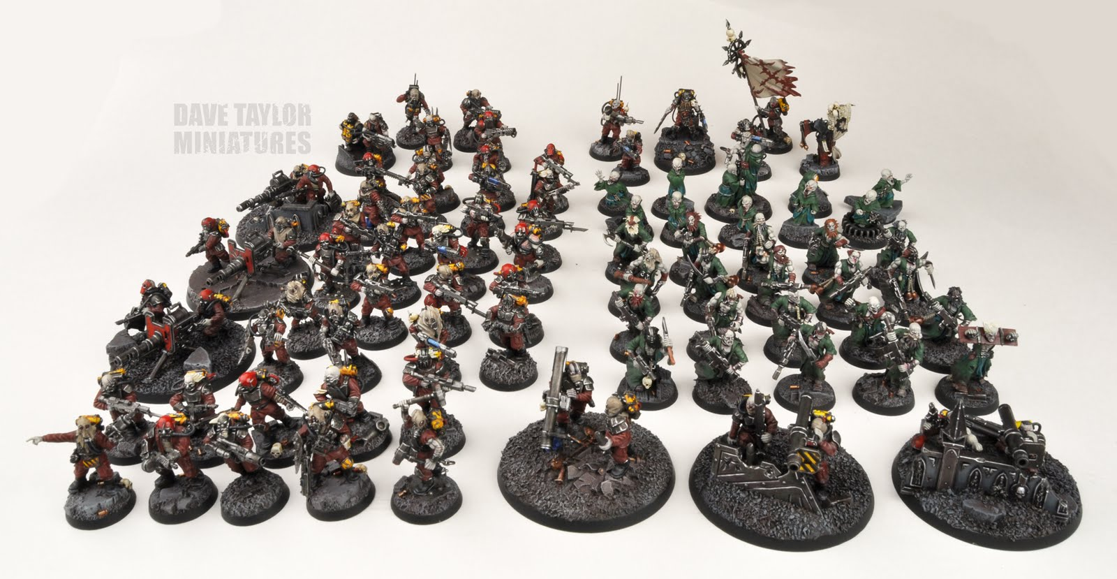 Imperial Guard Full Chaos Conversion - Wargaming Forum and