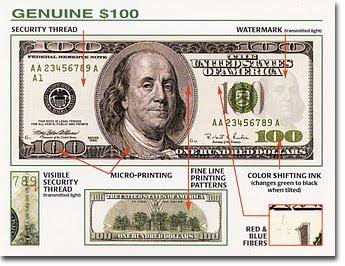 How To Spot Counterfeit Bills