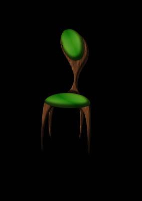 la petite fabrik chaise bulbe en biocomposite. Black Bedroom Furniture Sets. Home Design Ideas