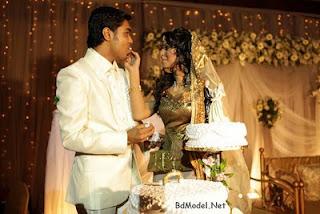 Bangladeshi model Prova and her boy-friend Rajib