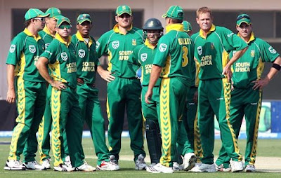 South Africa Cricket Team Members List for ICC World Cup Cricket 2011