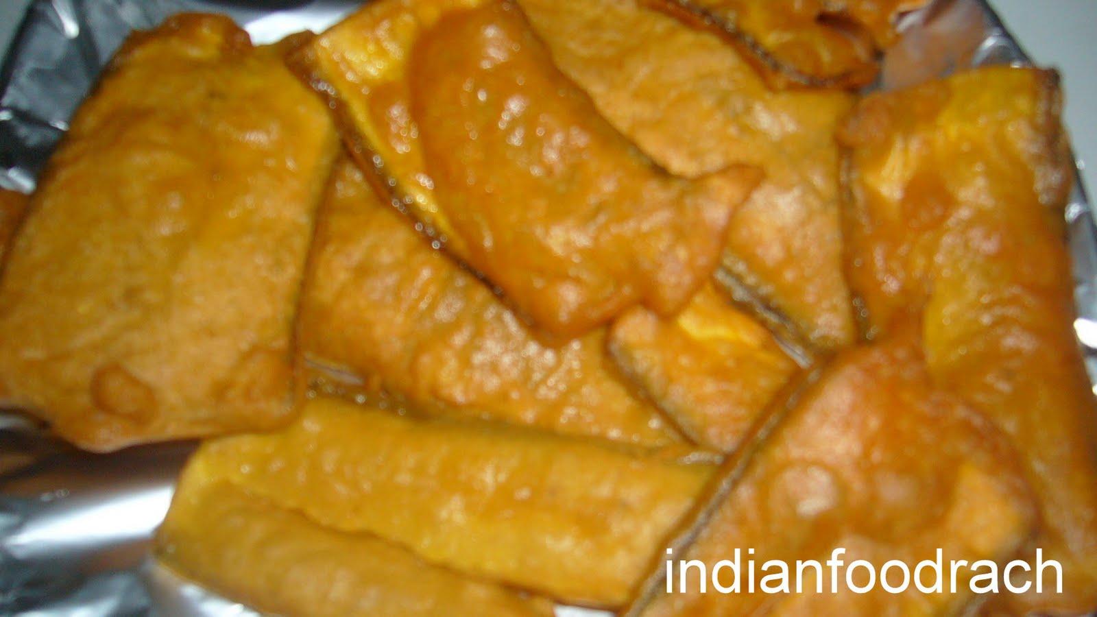Indian Fried Banana Cakes