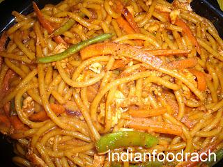 Style spaghetti Asian