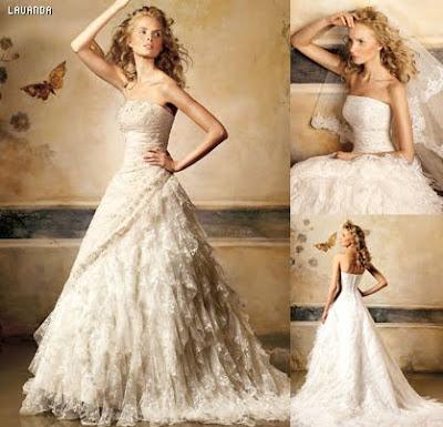 Wedding Dresses Pronovias Lavanda Wedding Dress