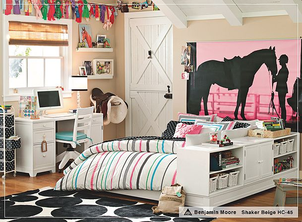 Marie Antoinette Interiors: A Teens Room IS Their Home!