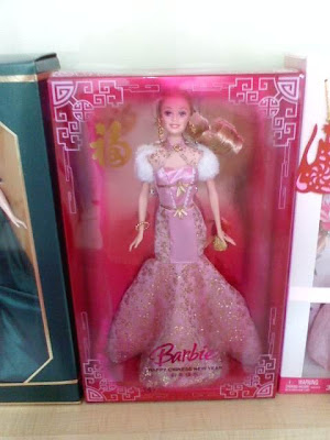 Lady Jan's Neverland: Chinese New Year Barbie Doll 2009