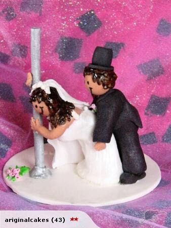 funny wedding cake figures wedding cake topper raunchy wedding cake topper 14568