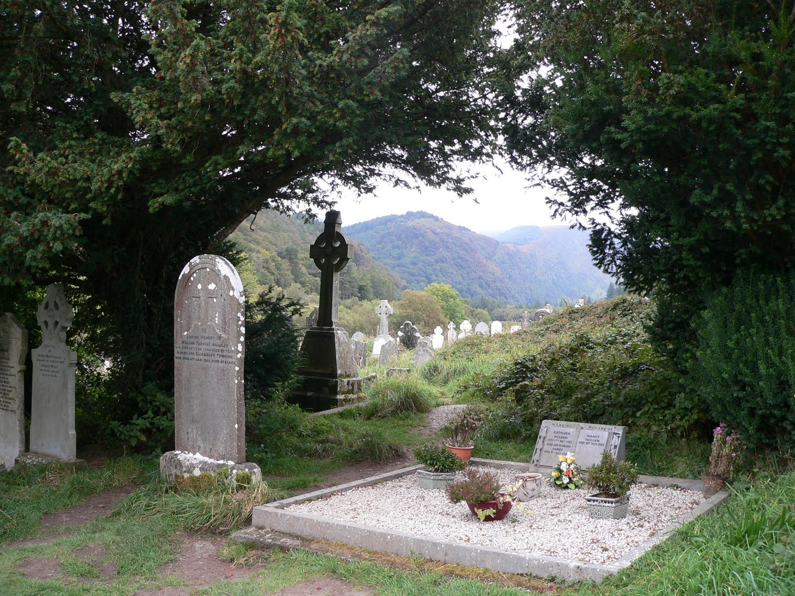 places thin sacred mystical ireland earth dying death