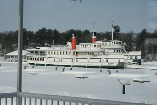 winter steamship