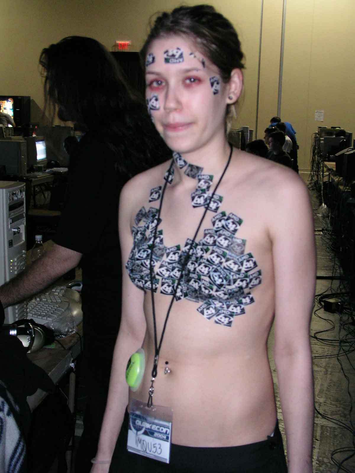 tattoos Girl breast