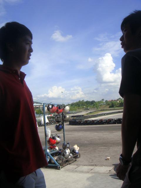 Tiffany Tan: Go Kart at Shah Alam