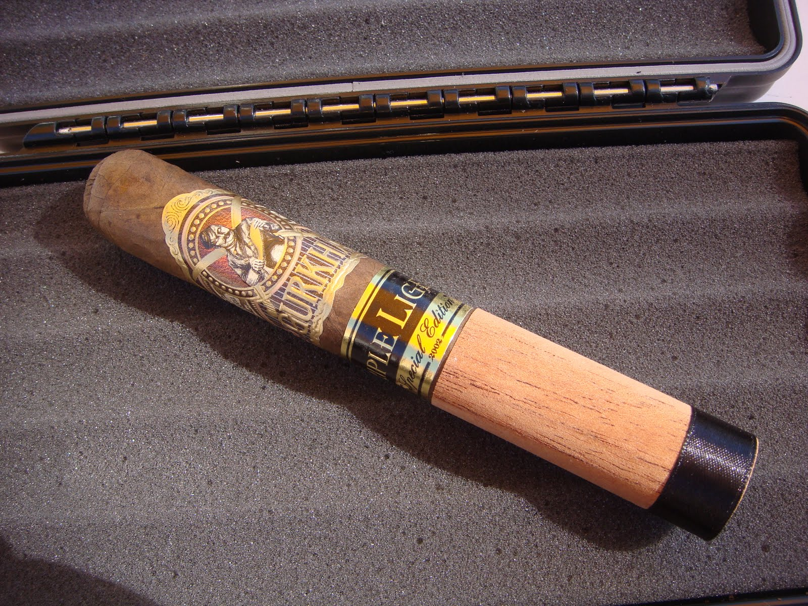 The cigar broskies: gurkha black dragon fury review.