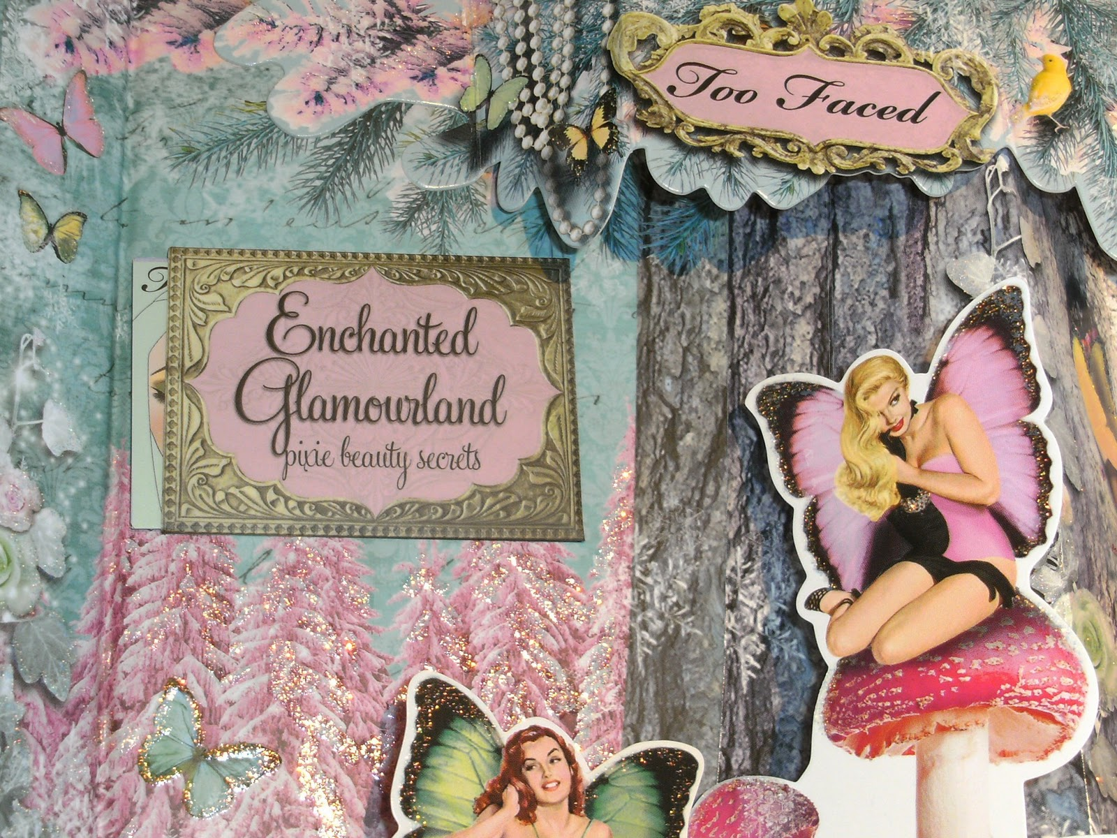 Too Faced Enchanted Glamourland Review & Swatches   Swatch