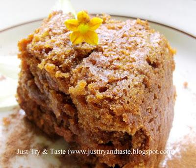 Resep Cake Wortel JTT