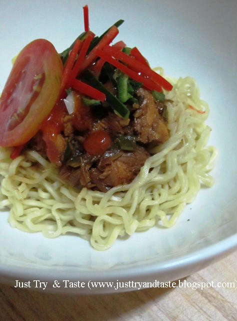Resep Mie Ayam Instan JTT