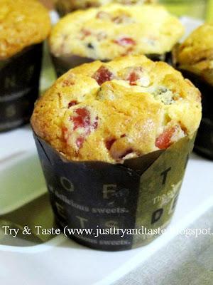Resep Muffin Buah Kering JTT